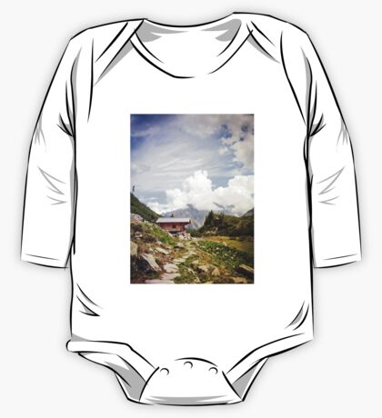 The Hut in the Mountains One Piece - Long Sleeve