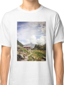 The Hut in the Mountains Classic T-Shirt