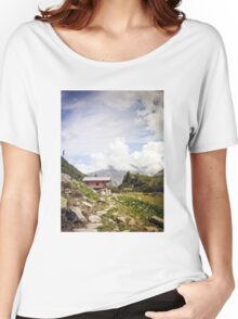 The Hut in the Mountains Women's Relaxed Fit T-Shirt
