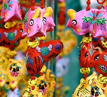 In Chinatown, Singapore by Ashlee Betteridge