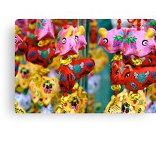 In Chinatown, Singapore Canvas Print