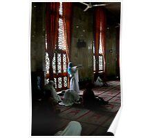 Prayer Time, Jakarta, Indonesia Poster
