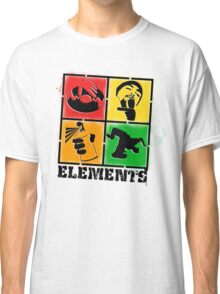 """Elements of HipHop"" Classic T-Shirt"