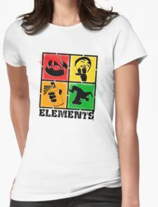 """""""Elements of HipHop"""" Womens Fitted T-Shirt"""
