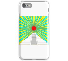 Mayan Sun Pyramid  iPhone Case/Skin