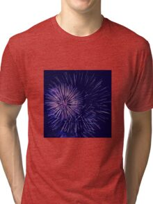 Fireworks lights Tri-blend T-Shirt