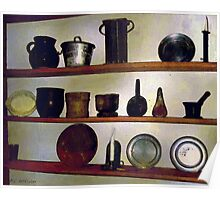 Colonial Cook's Cupboard Poster