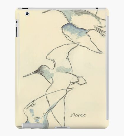 Sketching birds iPad Case/Skin