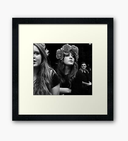 After The Show Framed Print