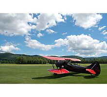 bi plane waits Photographic Print