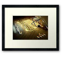 light in the house ... Framed Print