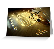 light in the house ... Greeting Card