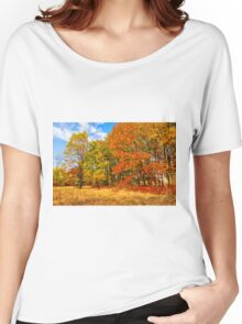 Autumn colors of nature Women's Relaxed Fit T-Shirt