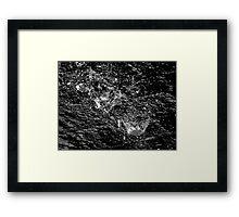 Martian Rain Framed Print