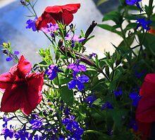 Spring Colours 2-Bloor Yorkville Flower Arrangement by OptixInArt