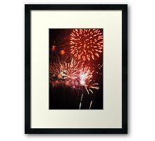 Fireworks! (2) Rockets' Red Glare Framed Print