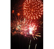 Fireworks! (2) Rockets' Red Glare Photographic Print