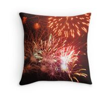 Fireworks! (2) Rockets' Red Glare Throw Pillow