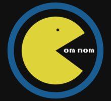 8 Bit Om Nom by Glitched