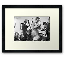 the performers....  Framed Print