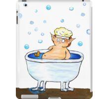 Bathing hobbit iPad Case/Skin