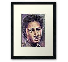 Zach Braff Framed Print