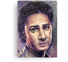 Zach Braff Canvas Print