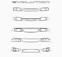 Mitsubishi Lancer - Evolution by arialite