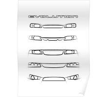 Mitsubishi Lancer - Evolution Poster