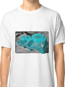Turquoise Chairs Classic T-Shirt