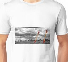 Route 66 - Twin Arrows - Selective Color Unisex T-Shirt