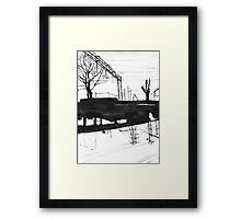 Railway I Framed Print