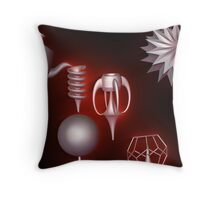 Whimsy, Incendia 3.0 Throw Pillow