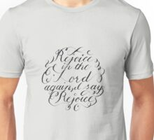 Rejoice in the Lord Always Unisex T-Shirt