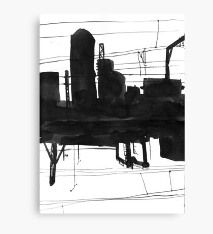 Railway II Canvas Print