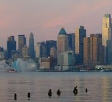 Panoramic Skyline by nfsnyc