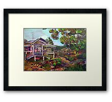 the Mountain Caretakers Framed Print