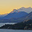 Dusk on Lake Wakatipu by Peter Hammer