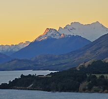 Dusk on Lake Wakatipu by Peter Hammer