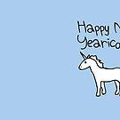 Happy New Yearicorn by jezkemp