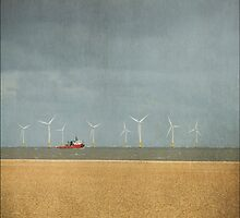 Scroby Sands Wind Farm, Great Yarmouth, Norfolk by DaveTurner
