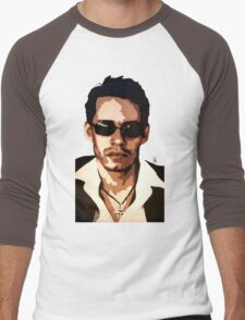 Marc Anthony Men's Baseball ¾ T-Shirt