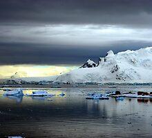Ice Station Zebra, Antarctica by John Dalkin