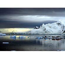 Ice Station Zebra, Antarctica Photographic Print