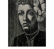 Billie Holiday - low ink Photographic Print