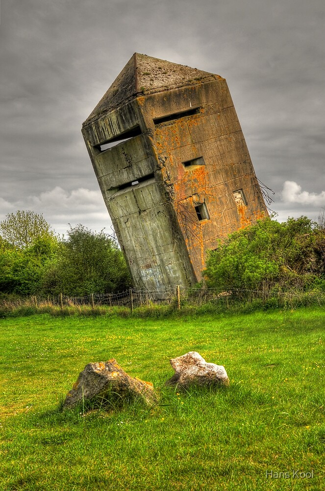 Atlantic Wall Commando Tower by Hans Kool