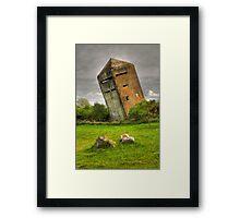 Atlantic Wall Commando Tower Framed Print