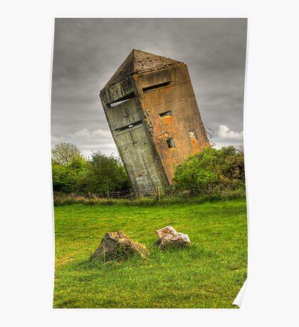 Atlantic Wall Commando Tower Poster