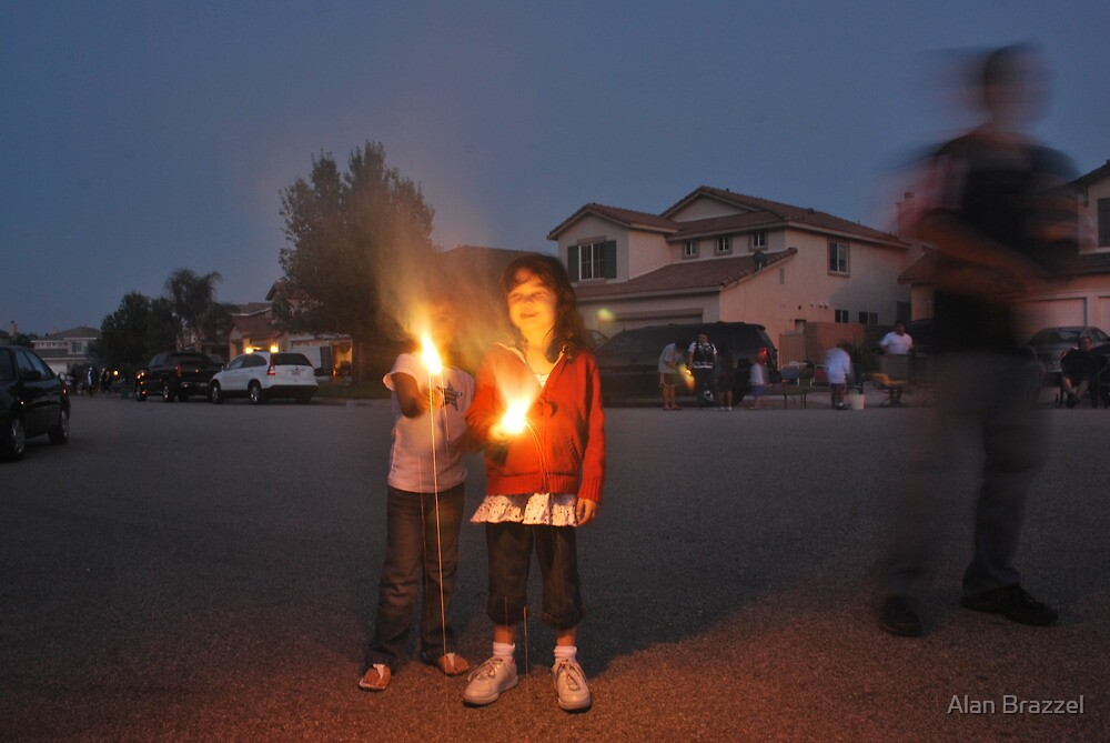 Playing With Fire-Independence Day, 2010 by Alan Brazzel