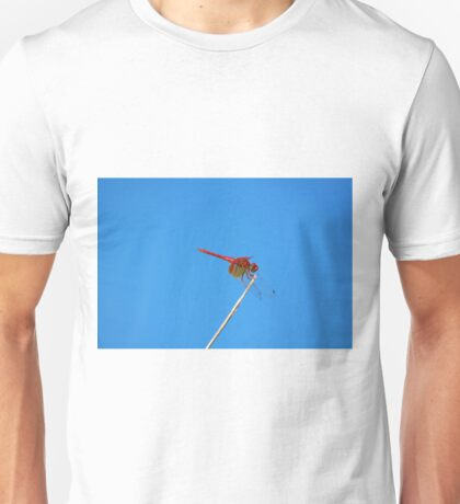 Dance of the Red-Veined Dropwing Dragonfly Unisex T-Shirt